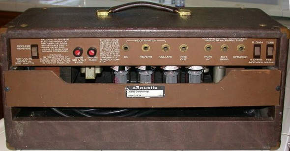 Acoustic 160 Tube Head