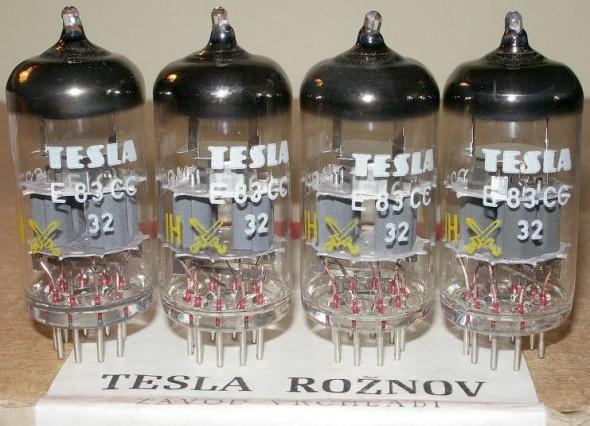 Porovnanie zvuku elektróniek ECC83 (JJ, Tesla a Mullard)
