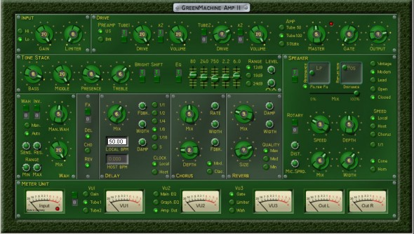 Green Machine AMP II