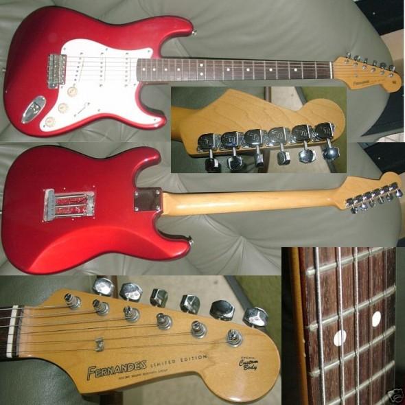 3 x Stratocaster alebo zase tí japonci :)
