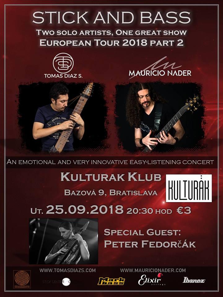 Stick and Bass Tour 2018